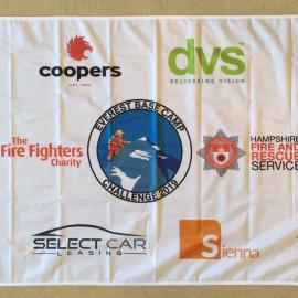 base camp flag