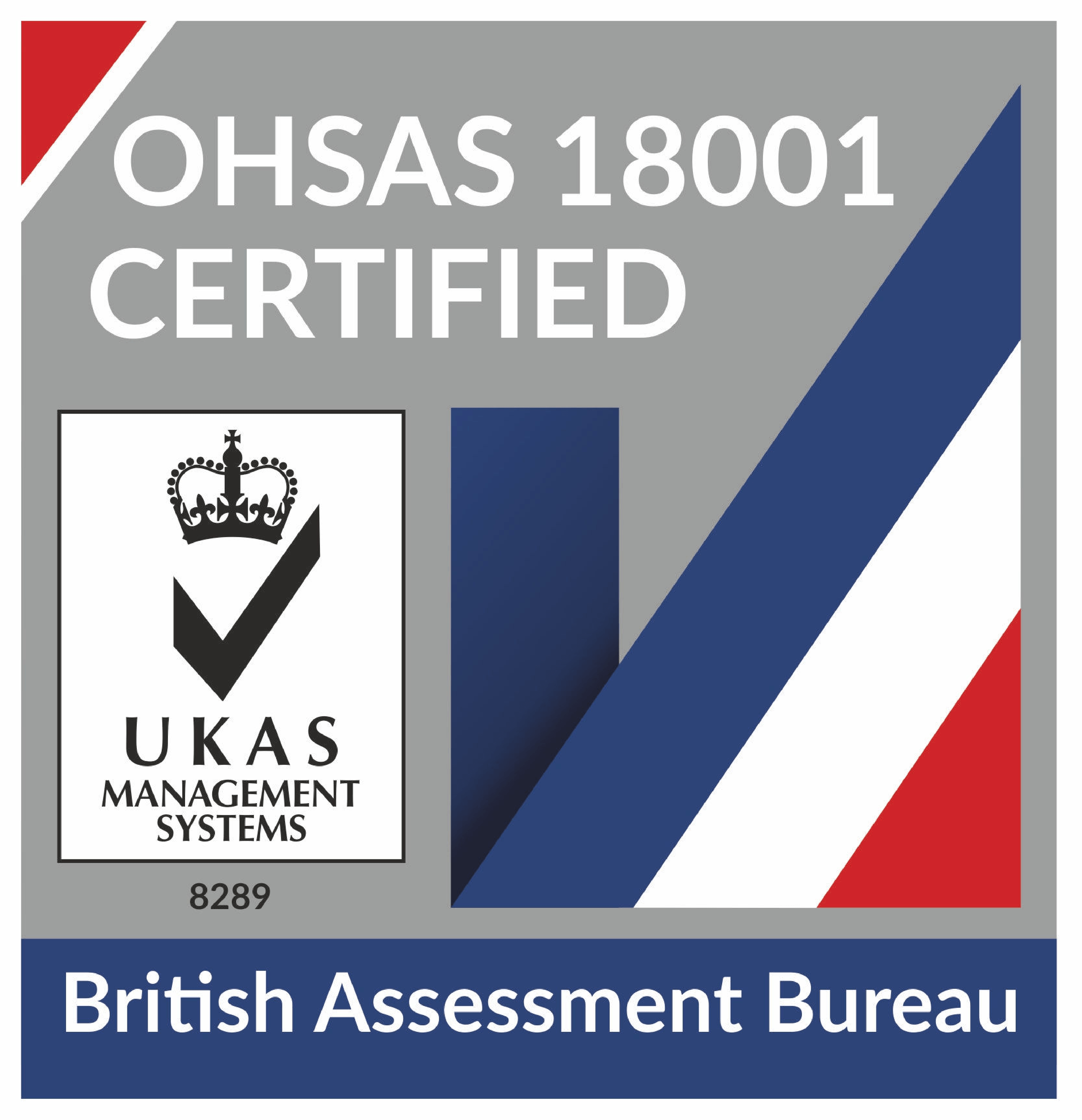 Occupational Health & Safety Management System BS OHSAS 18001: 2007  Chas